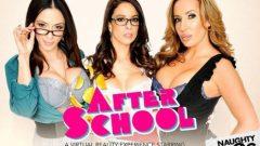 Naughty America – Ariella Ferrera, Eva Long & Richelle Ryan