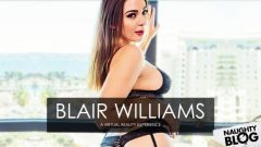 Naughty America VR – Blair Williams