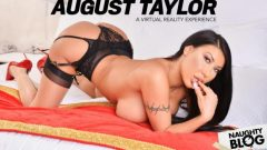 Naughty America VR – August Taylor