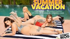 Naughty America VR – Ivy LeBelle, Karma Rx & Vanessa Cage