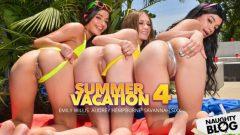 Naughty America VR – Emily Willis, Audrey Hempburne & Savannah Sixx