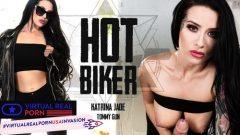 Hot Biker Katrina Jade , Tommy Gunn