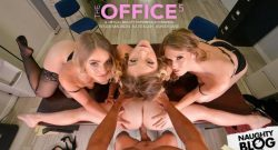 Ashley Lane, Katie Kush & Kenzie Madison – Ashley Lane, Katie Kush, & Kenzie Madison go out with a BANG! – VR