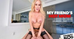Brandi Love – Brandi Love fucks you while she washes your clothes