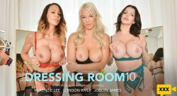 Naughty America VR – Joslyn James, London River & McKenzie Lee